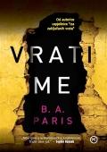 B. A. Paris: Vrati me